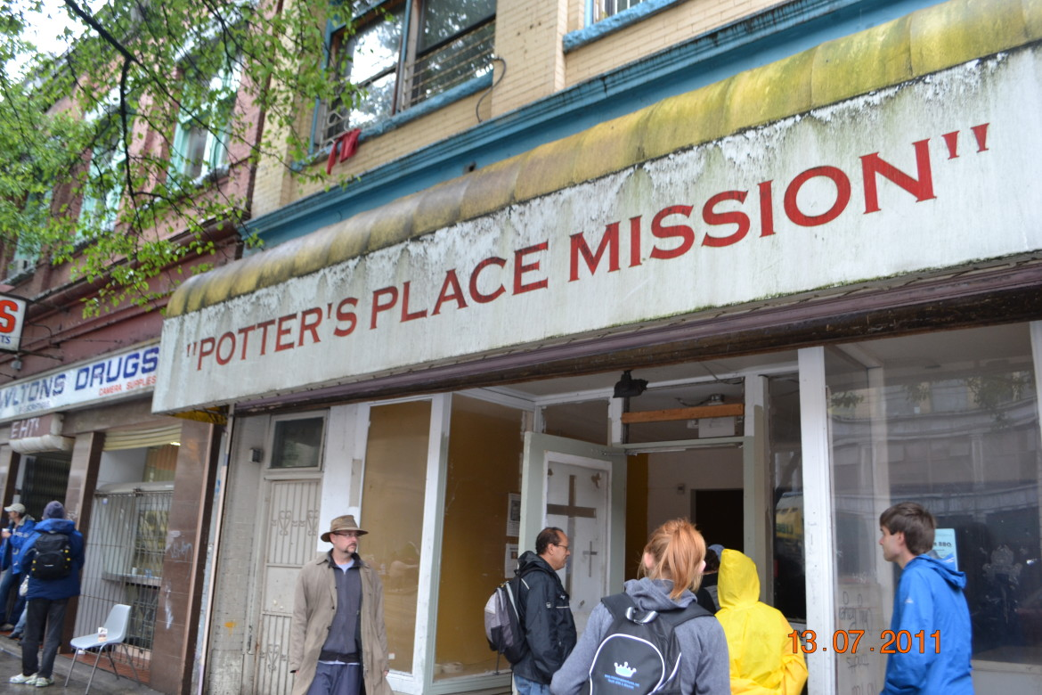 Potter's Place Mission on East Hastings