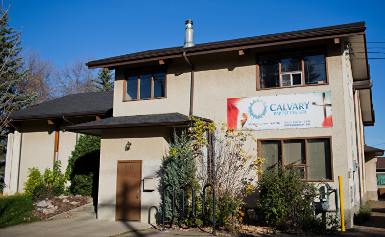 Calvary Baptist Church Exterior