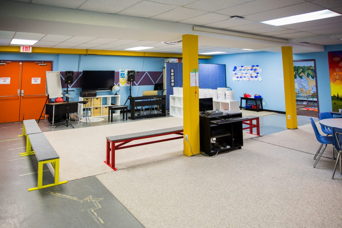 Calvary Baptist Church Edmonton KidzChurch Space